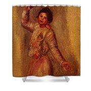 Dancer With Castenets 1895 Shower Curtain