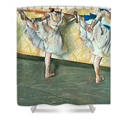 Dancers At The Bar Shower Curtain