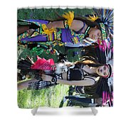Dancers Day Of The Dead  Shower Curtain