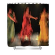 Dancers In Motion  Shower Curtain