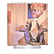 Dancers On El Paseo Shower Curtain