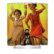 Dancin' Cause It's Tuesday Shower Curtain