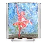 Dancing Ballerina Shower Curtain
