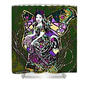 Dancing Butterfly Shower Curtain