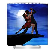 Dancing By Moonlight Shower Curtain