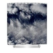 Dancing Clouds Shower Curtain