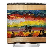 Dancing Colors     102 Shower Curtain