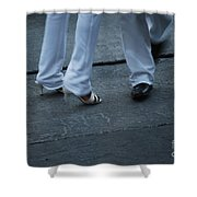 Dancing Feet At The Dominican Republic Son Party Number Two Shower Curtain