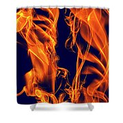 Dancing Fire I Shower Curtain