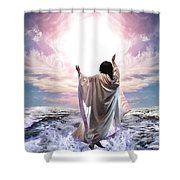 Dancing For My Father Shower Curtain