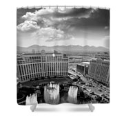Dancing Fountains Shower Curtain