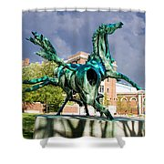 Dancing Horses Shower Curtain