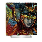 Dancing In Color Shower Curtain