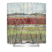 Dancing In The Field Shower Curtain