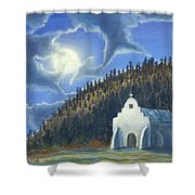 Dancing In The Moonlight Shower Curtain