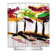 Dancing In The Rain, Vol. 1 Shower Curtain