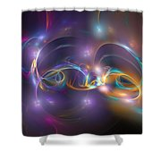 Dancing Light Shower Curtain