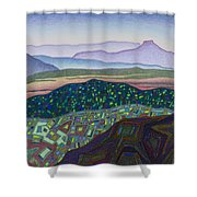 Dancing Light Of Northern New Mexico Shower Curtain