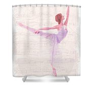 Dancing Melody Shower Curtain