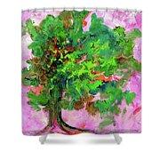 Dancing Oak Shower Curtain