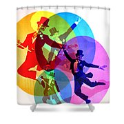 Dancing On Air Shower Curtain