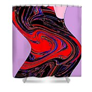 Dancing Queen Roline Shower Curtain