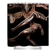 Dancing Shiva Shower Curtain