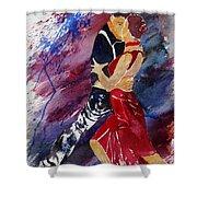 Dancing Tango Shower Curtain