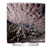 Dancing Trees  Shower Curtain