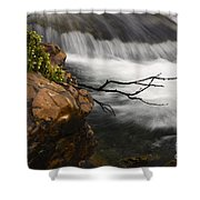 Dancing Waters 3 Shower Curtain