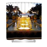 Dancing Waters Shower Curtain