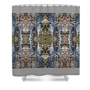 Dancing With Aspen Leaves Shower Curtain