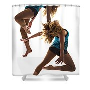 Dancing With Myself Shower Curtain