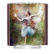 Dancing With The Light Shower Curtain