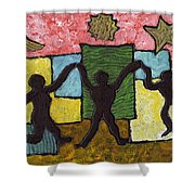 Dancing With The Stars...and The Sun And The Moon Shower Curtain