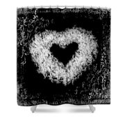 Dandelion Love Shower Curtain