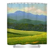 Dandelion Meadows Shower Curtain