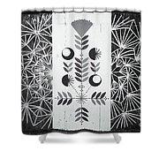 Dandelion Puff Shower Curtain