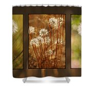 Dandelion Series Shower Curtain