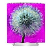 Dandelion Spirit Shower Curtain