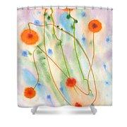 dandelion. 18 May, 2015 Shower Curtain