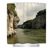 Danebu Gorge  Shower Curtain