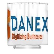 Danexu Technologies Logo Shower Curtain