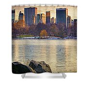 Danger - Thin Ice Shower Curtain