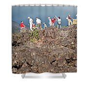 Danger No Trespassing Shower Curtain