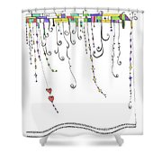Dangles Shower Curtain
