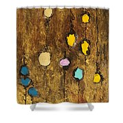 Dangling Blossoms Shower Curtain
