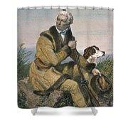 Daniel Boone (1734-1820) Shower Curtain
