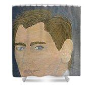 Daniel Craig Shower Curtain