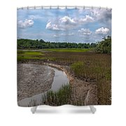 Daniel Island Paradise Shower Curtain
